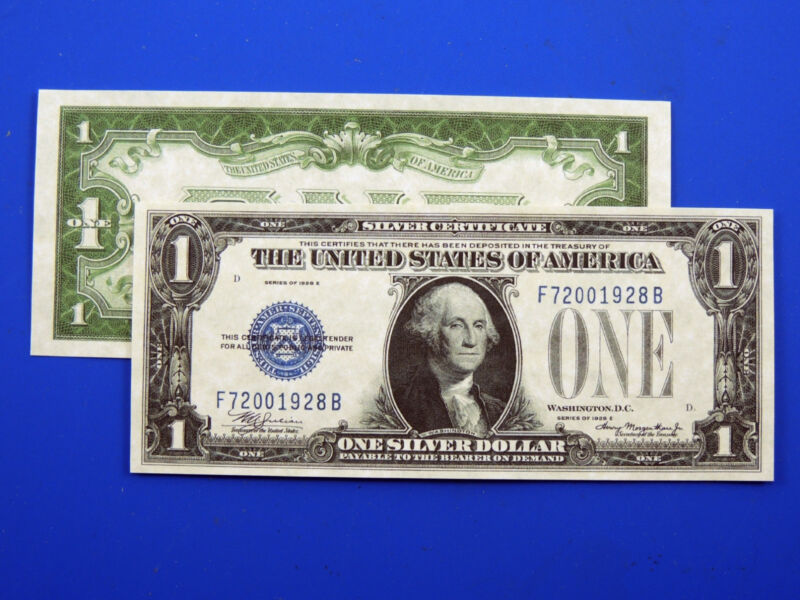 Reproduction $1 1928E SC US Paper Money Currency Copy