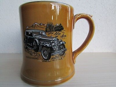 """Wade '1933 Duesenberg SJ. Convertible' Tankard, An """"R K"""" Product by Wade Ireland for sale  Shipping to Ireland"""
