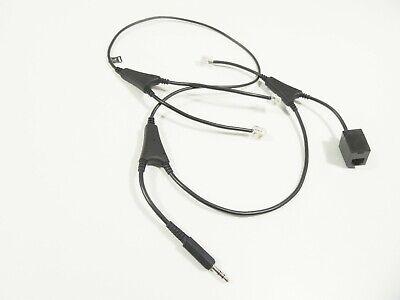 Msh-adapter (Jabra MSH Adapter Kabel GO PRO Headset 14201-36 für Alcatel mit Rechnung 19%MwSt)