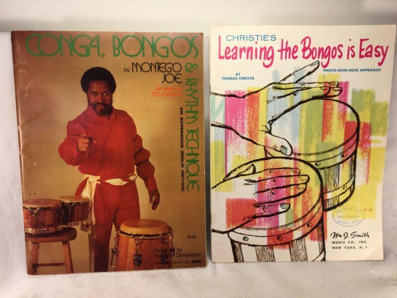 Vintage Learning the Bongos/Montego Joe