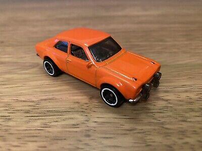 Hot Wheels 1970 Ford Escort RS1600 Baja Blazers Custom All Orange
