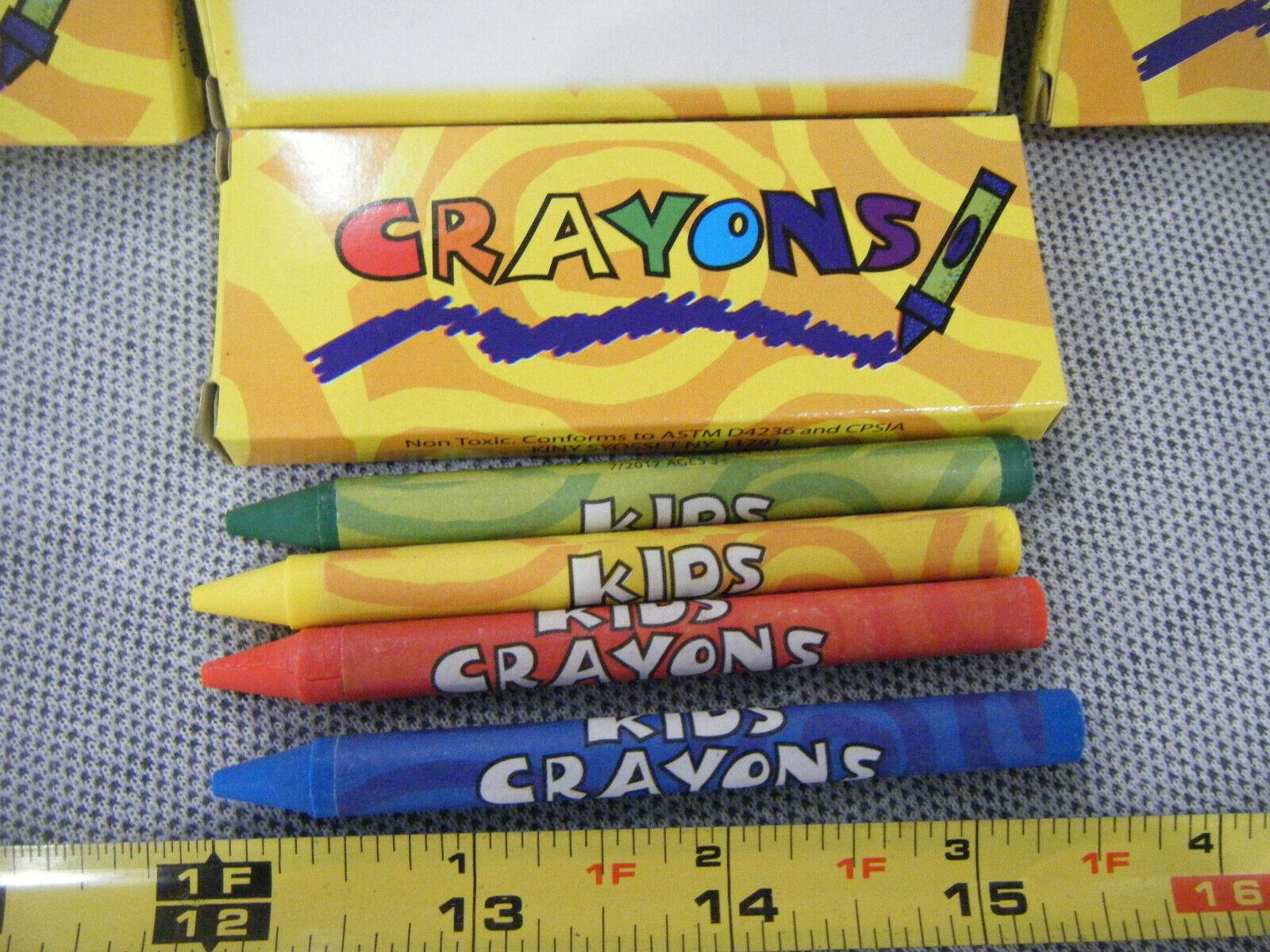 Lot of 335 -4 Pack Restaurant Crayons Samaritan's Purse Sh