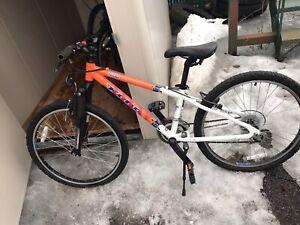 Bicyclette pour jeune ado