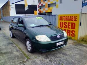2003 Toyota Corolla Sedan 1 Year Warranty Woy Woy Gosford Area Preview