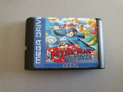 Mega Man The Wily Wars Sega Megadrive/Genesis