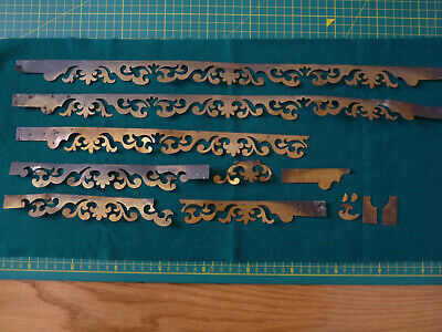 Writing Slope / Box Restoration - Quantity of Ornate Brass Inlay