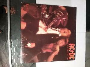 AC/DC 3x VINYL LP RECORDS Sefton Bankstown Area Preview