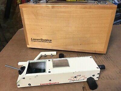 Cooper Lasersonics Model 8520 Micromanipulator W Wooden Case Fast Shipping