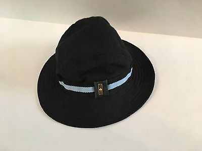 Woman's Authentic Gucci sun rain hat made in Italy