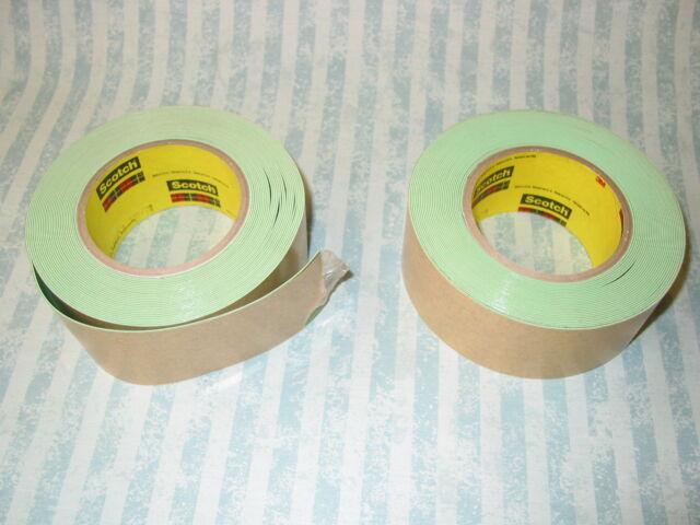 2x rolls 3M Impact Stripping signwriting masking Tape 9.1m 50mm