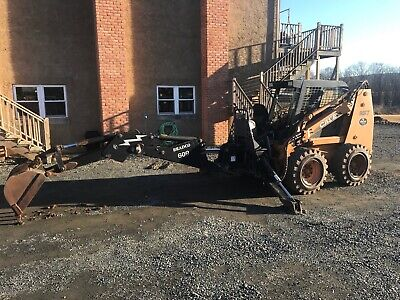 Bradco 609 Heavy Duty Skidloader Backhoe Attachment 16 And 24 Buckets