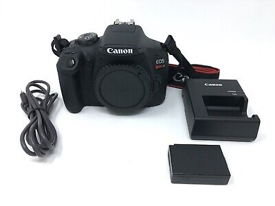 Canon EOS Rebel T7 24.1 MP Digital SLR Camera - Black (Body Only) - 3875