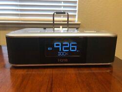 IHOME IDL95 DUAL ALARM CLOCK RADIO STEREO iPhone/iPod Docking Station