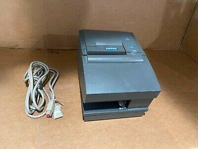 Toshiba Ibm 4610-2cr Pos Receipt Printer Usbpower Cable Gray