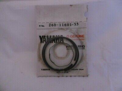 <em>YAMAHA</em> GENUINE NOS PISTON RINGS 260 11601 33 PW50 RD50 075MM 3RD OS