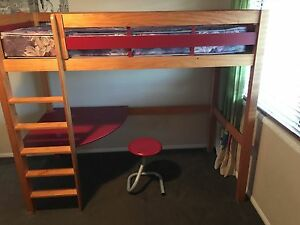 Wooden Bunk bed Kippa-ring Redcliffe Area Preview