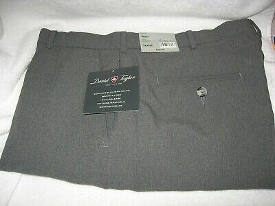 Mens Sears Flexslax Heather Gray 38x32 Dress Pants New with tags Heathered Mens Dress Pants