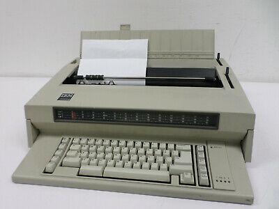 Vintage 1984 Ibm Wheelwriter 3 Electronic Typewriter Type 674x Working Needs Ink