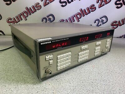 Boonton 8200 Modulation Analyzer 8200-s3