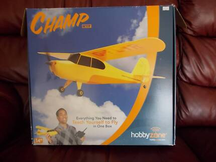 """RC """"CHAMP"""" Model Plane - """"Anyone can Fly"""""""