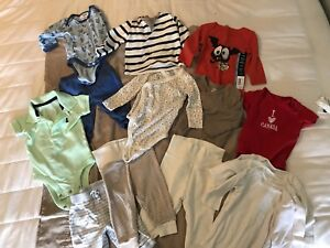Baby clothes lot size 0-3 months