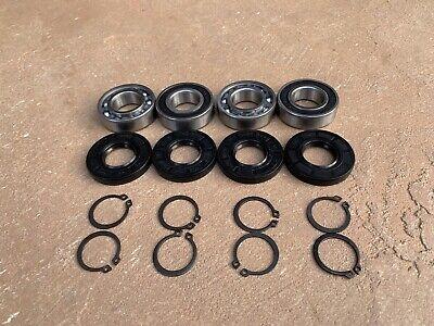 2 Packs Of King Kutter Finish Mower Spindle Bearing Seal 555009