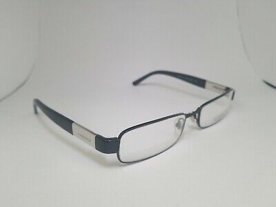 New VERSACE Authentic MOD. 1121 1009 Black/Silver Eyeglasses 53-17 135 Italy