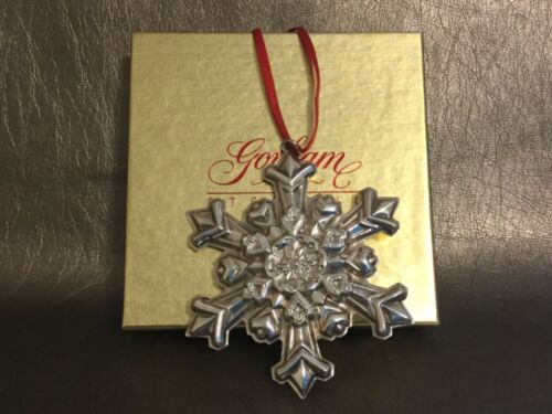 GORHAM 1995 Sterling Silver Annual Snowflake Ornament