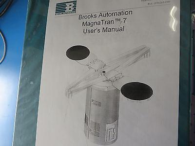 Brooks Automation Magnatran 7 Users Manual