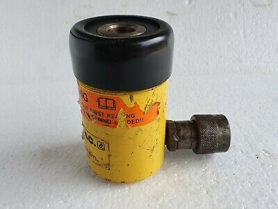 Enerpac Rch121 Hollow Plunger Hydraulic Cylinder 12 Ton 1.63 Stroke Made In Usa