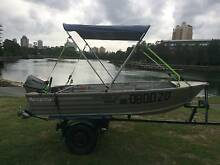 Ally Craft 15HP Honda 4 stroke elec start trailer and extra's Broadbeach Waters Gold Coast City Preview
