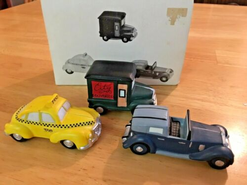 Dept 56 🎄 Heritage Village Collection 🎄 Automobiles 🎄 Set of 3 🎄 5964-1