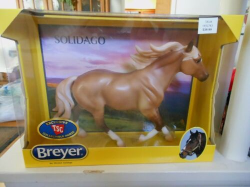 BREYER HORSE #301163 TSC 2020 Limited Edition SOLIDAGO Dun Quarter Horse NIB