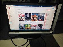 2 x 19 INCH WIDE SCREEN MONITOR WITH BUILT IN SPEAKER Lakemba Canterbury Area Preview