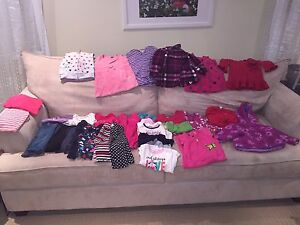 Girls clothes 12-18 months , 38 pieces