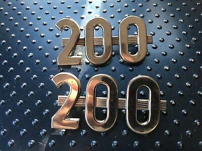 Farmall 200 Emblem