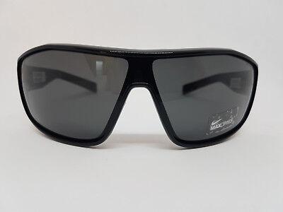 Sonnenbrille/Sunglasses Nike EV0610 schwarz Kunststoffrahmen Sport Size L