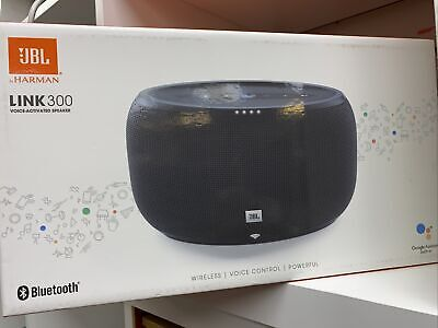 100% Original JBL Link 300 Portable Bluetooth Speaker - Black