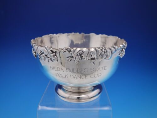 1895-1940 Nanking Store Shanghai Chinese Export 900 Silver Trophy Bowl (#4312)