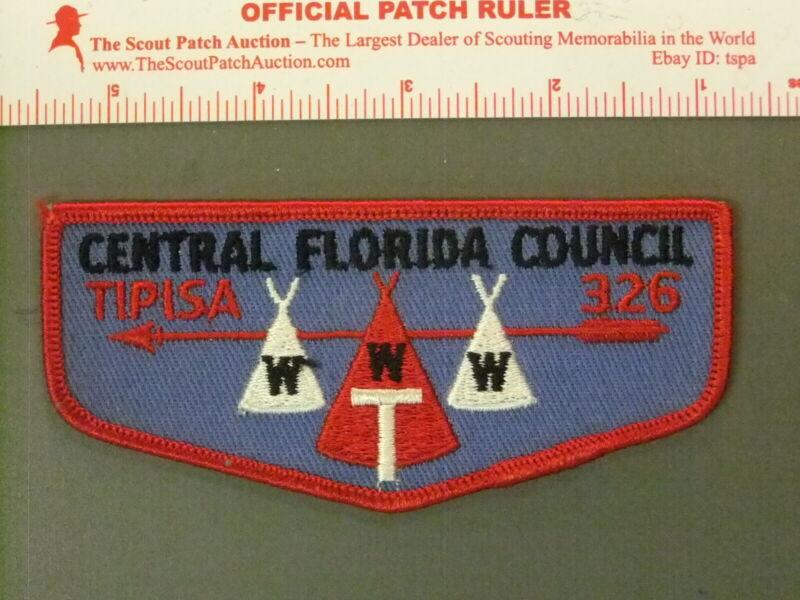 Boy Scout OA 326 Tipisa flap 4399JJ