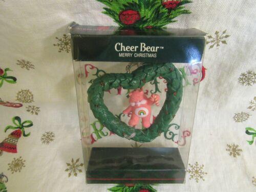 NIB Vintage AG Care Bears Cheer Bear Ornament 1985