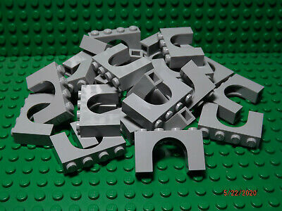 ** 25 CT LOT ** Lego NEW light bluish gray 1 x 4 x 2 arch bricks  Lot of 25