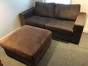 Sofa Bed & Ottoman Collingwood Yarra Area Preview