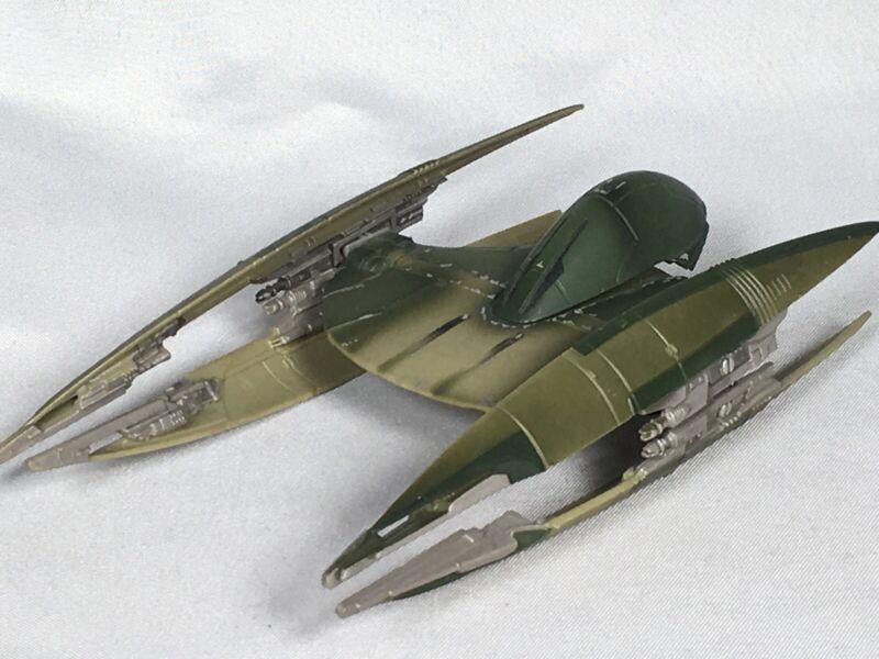 VTG Star Wars Trade Federation Vulture Droid Ship Hasbro 1999