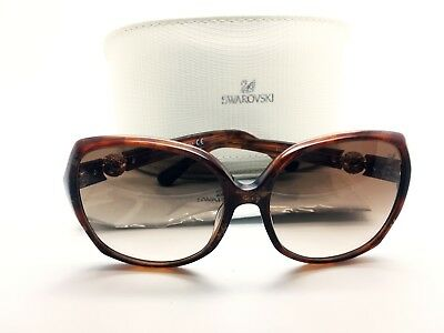 Swarowski Authentic Sunglasses Women  BRIDGET Made in Italy + Case Free (Swarowski Sunglasses)