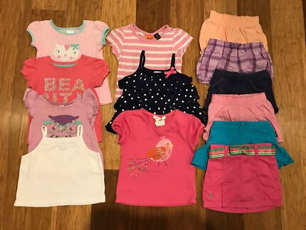 Girls Summer Clothes - Size 1 - 13 Items