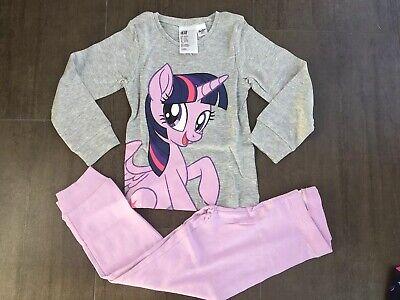 Neu 🦄 My Little Pony 🦄 Schlafanzug Pyjama Gr. 98/104/110/116/122/128/134/140 ()