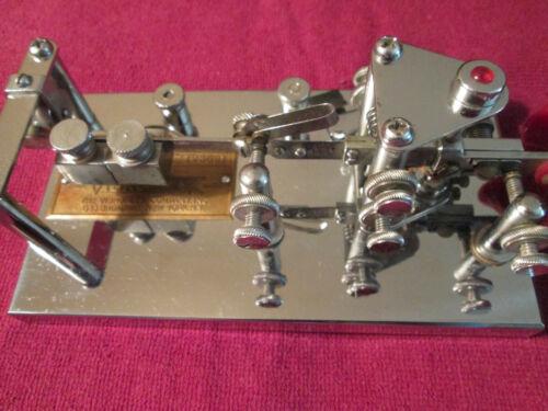 Vibroplex Lightning Bug Deluxe Telegraph Key