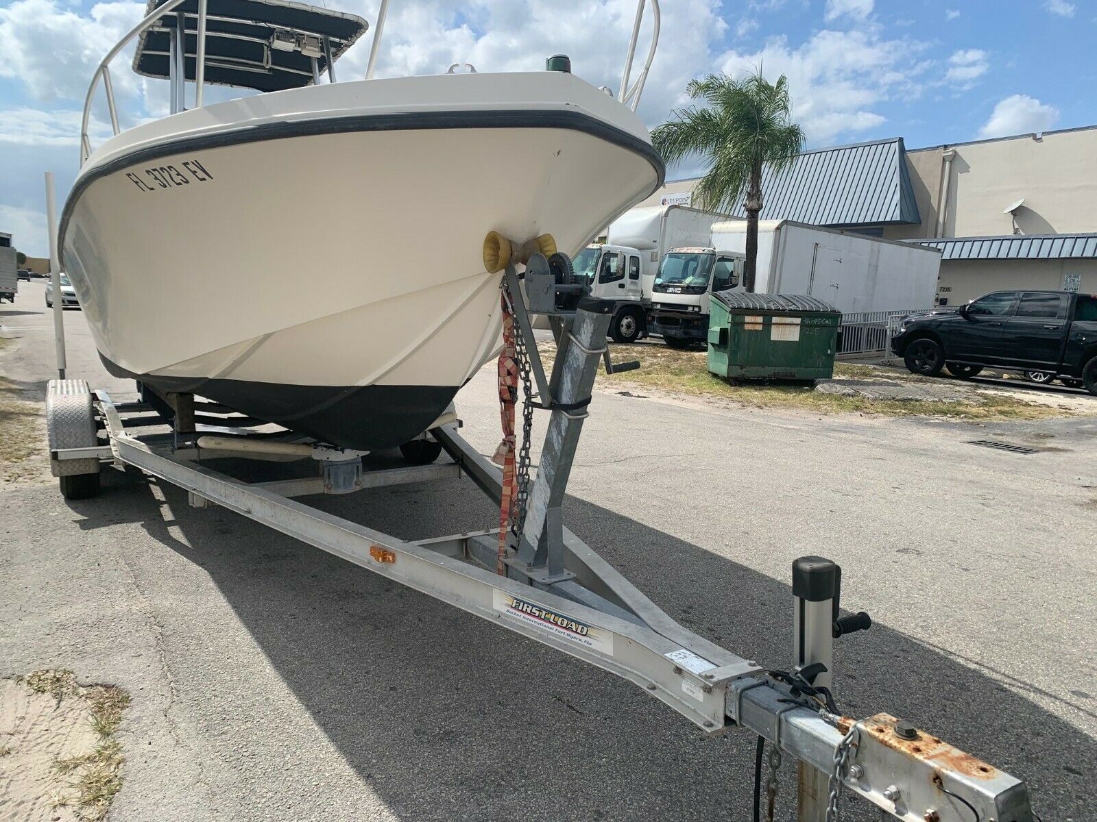 21ft Mako 250HP EFI Mercury with Dual Axle Aluminum Trailer boat