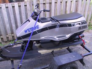 1988 Wetbike Tomcat and trailer